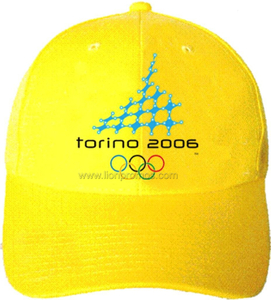 Olymic Game Promotional Souvenir Gift Cotton Baseball Cap