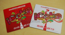 Coca Cola Giveaways Rubber Fabric Mouse Pad