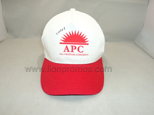 Public Election Campaign Gift Printed Cotton Baseball Cap