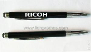 RICOH Logo Printed Metal Stylus Ball Pen