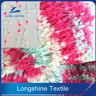 HOT SALE POLYESTER ACRYLIC VISCOSE BLENDED TOOTHBRUSH YARN FANCY YARN FOR SWEATER
