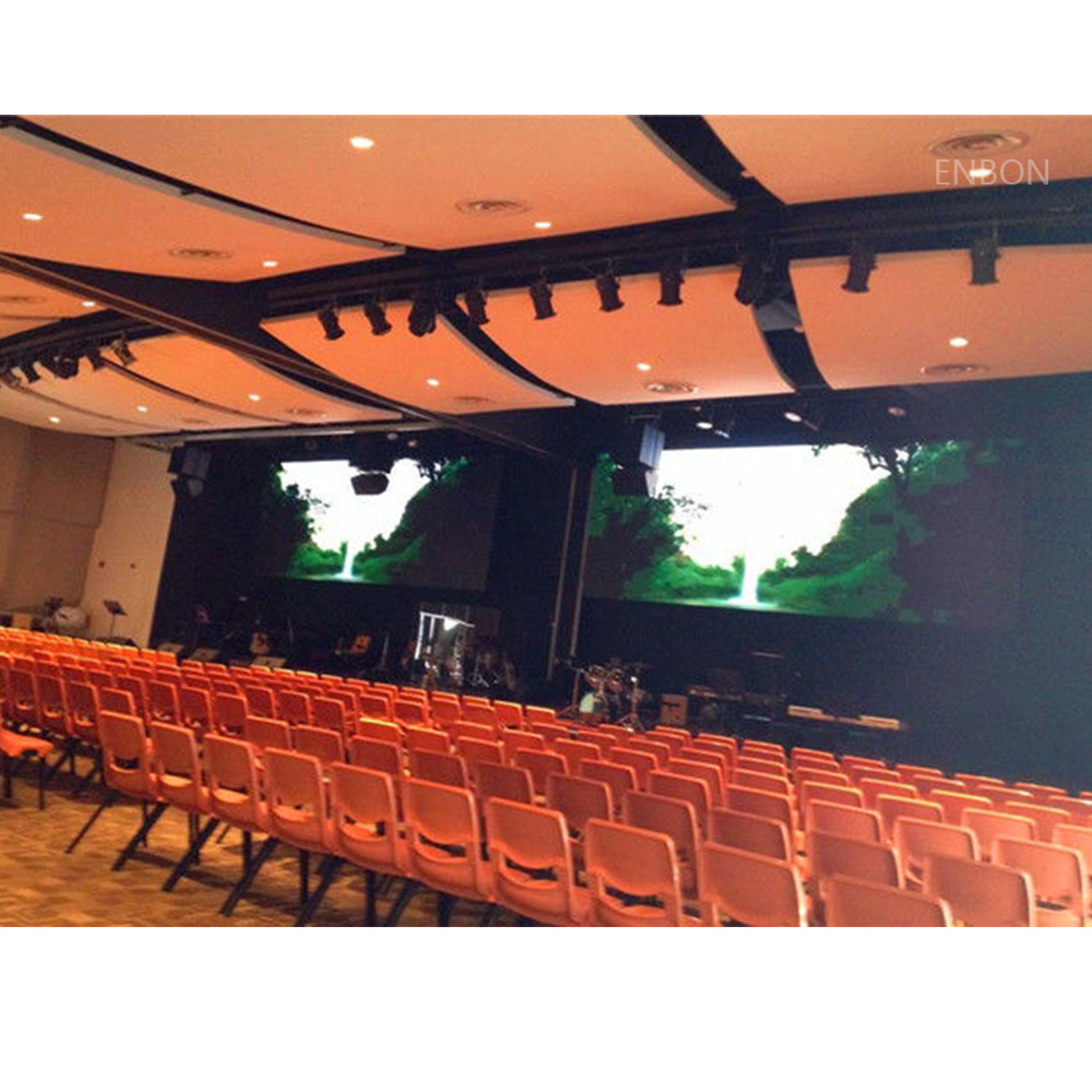 P3.0 HD interior Panel 576x576mm Alquiler / Fijo LED Video Wall con sistema Nova