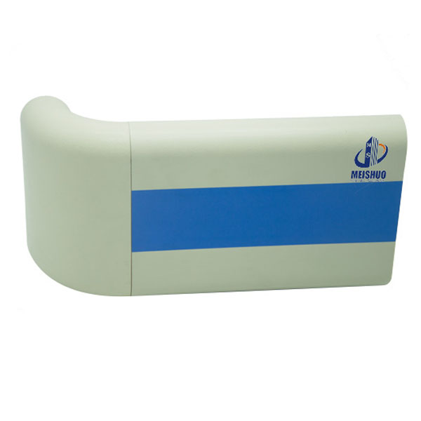 PVC Hospital Handrail with ABS Elbow