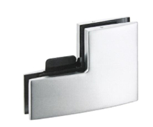 Ks-060s Glass Door Hinge Small L Patch Fitting