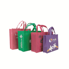 Customized non woven shopping bags with print logo for promotion event