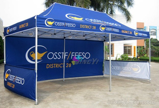 3X6M (10X20ft) Canopy Tent Outdoor Marquee Printing Promotion Event 3X6M (10X20ft) Gazebo Display Portable POP up Folding Party Tent