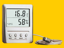 WSB-2 Digital Thermoemter and Hygrometers