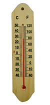 CF308-8 Wooden Thermometer
