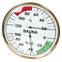 SP-X-24WS Sauna Thermometer and Hygrometer
