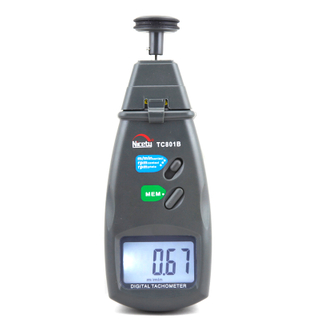 Digital Laser & Contact Tachometer TC801B