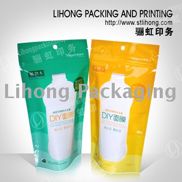 Doypack Pouch for Detergent Standing Bag Without Spout