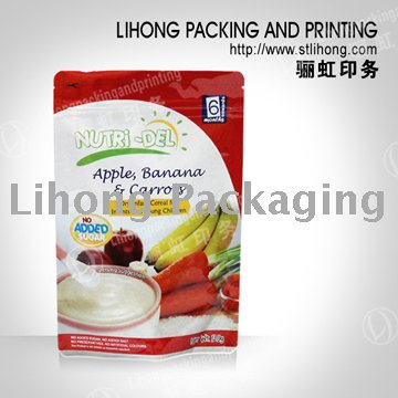 Food Packaging Small Stand Up Zip Pouch Eco-friendly Material
