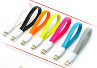 Magnet Cellphone Data and Charge Cable with Micro USB Port
