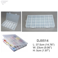 DJ0514 Adjustable Storage Box 24 Slots Home Organizer
