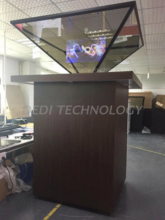 Dedi 360 Degree Holographic 3D Showcase Hologram Advertising Display Signage