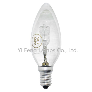 Best Selling Eco C35 28W 230V Energy Saving Halogen Lamp Standard with Ce RoHS ERP Meps