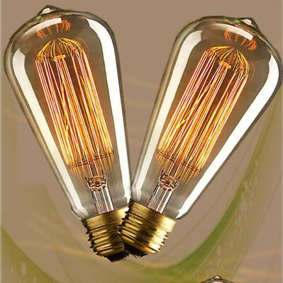 Wholesale Chinese Manufacture Hot Selling 40W/60W St58 Edison Bulb