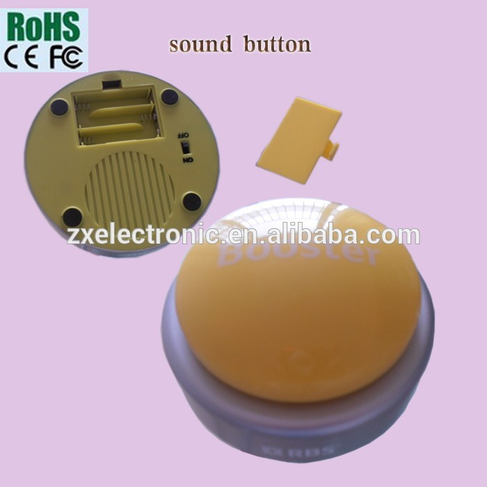 Programmable Sound Custom Easy Button for Music Gift Box