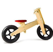 Toy Wooden Vehicle, Kids Wooden Bike