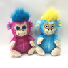 Cute Pink And Blue Orangutans Stuffed Big Eyes Kids Toys