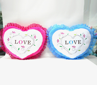 Custom Valentine Plush Heart Shaped Pillow Soft Heart Pillow