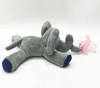 EN71 Infant Plush Toys Pacifier Mini Elephant Baby Toys