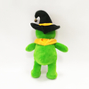 Halloween Cool Green Bears with black Hat and bell