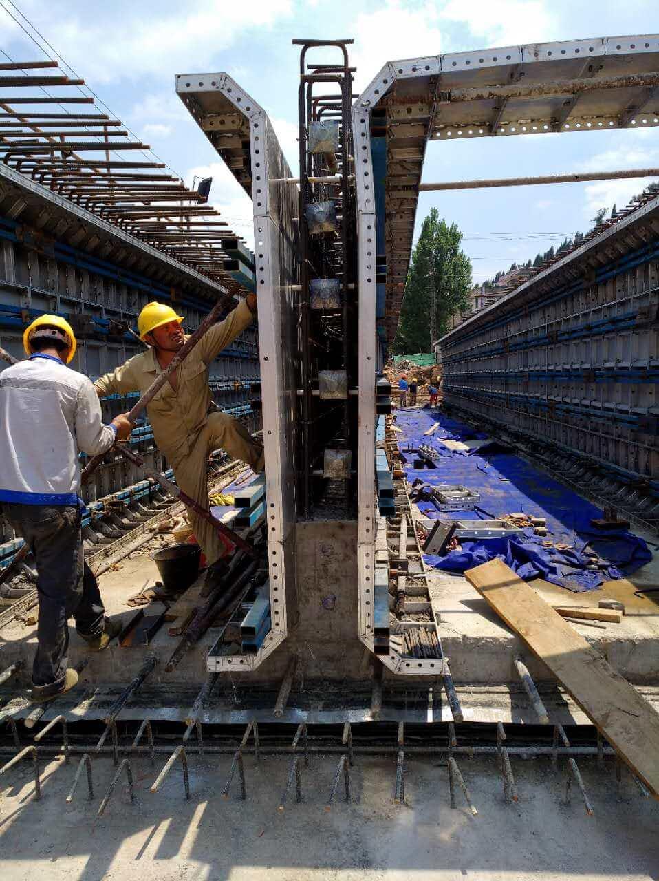 alu-formwork for utility tunnel (7)