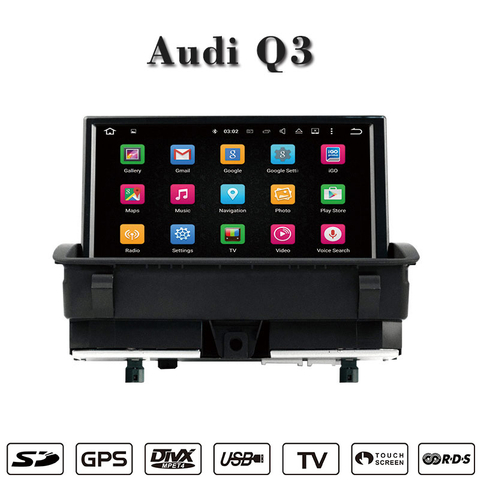 cars dvd Android for Audi Q3 car videos wifi connection