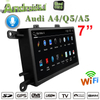 "7""Anti-Glare Audi A4 / Q5 / A5 MMI 2G 3G Multimedia Gps Navigatior Carplay Android Octa Core Aux 4g Wifi"
