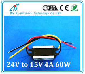 24V drop to 19V 3A step down Aluminum alloy shell IP65 waterproof dc dc converter power converter
