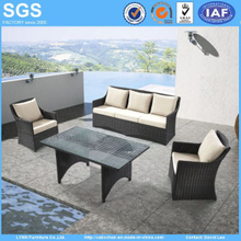 Popular Modern Design Outdoor Furniture Rattan Sofa