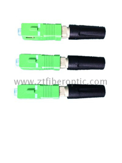 FTTH Straight SC/APC Field Assembly Connector