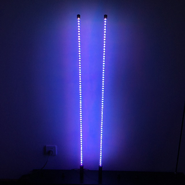 5ft Solid color LED lighted whips