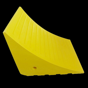NWH-WCK10 PU Traffic Wheel Chocks for Big Trucks