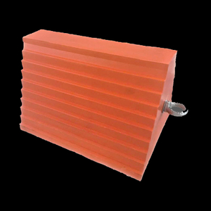 NWH-WCK05 Traffic Safety Orange Urethane Wheel Chock