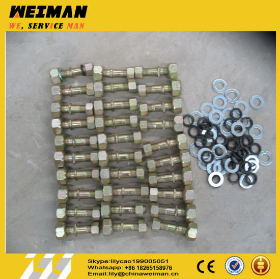 3t and 5t Sdlg Wheel Loader Spare Parts Wheel Nut Wheel Bolt and Wheel Washer for Sale