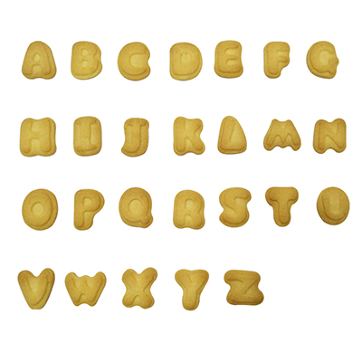 Mini Letter Butter Biscuit