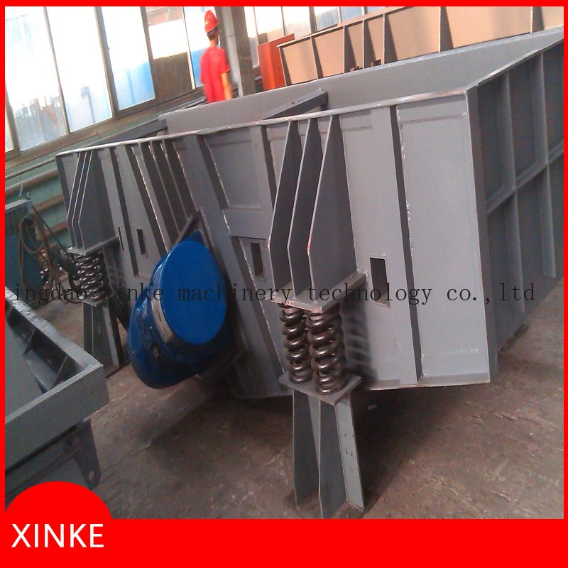 Vibrating Shakeout Machine for Wet Clay Sand Casting Line