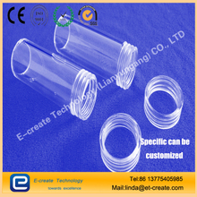 CNC thread processing, high-precision screw thread, quartz tube processing thread, quartz thread pipe processing factory