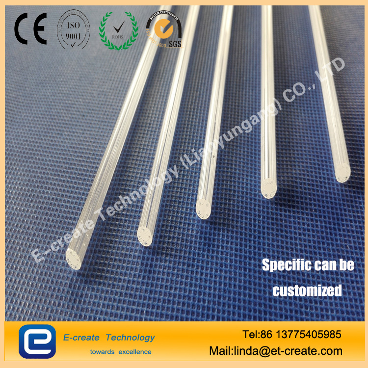 Two - hole tube four - hole tube six - hole tube 8 - word tube quartz glass tube quartz capillary processing custom - made