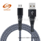 Factory Direct Sale V8 Nylon Braided Charging Data Cable for Android