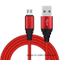 USB2.0 Nylon Braided Charging Data Cable for iPhone with Appearance Patent