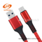 USB (5A) 3.0type-C Leather Braided Charging Data Cable for Huawei