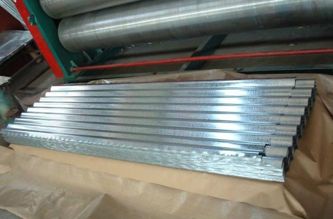 Corrugated Metal Roofing/Wave Galvanized Roof Sheets/Gi Steel Plate Material