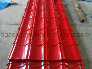 Good Quality Top Grade Glazed PPGI/PPGL Steel Roofing Sheet