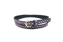 The latest black dress embroidery belts for woman AFL71051