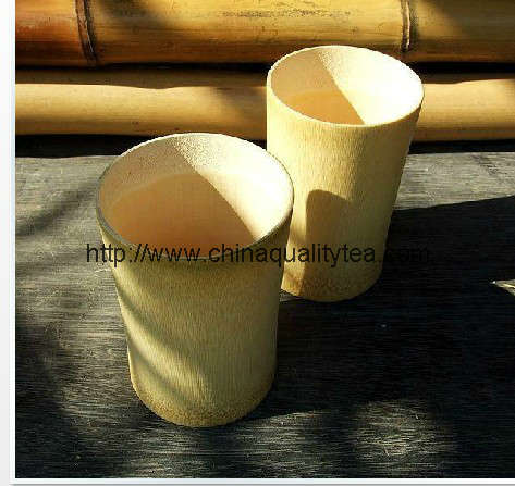 Bamboo cansiter or Cup