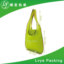 heat transfer printing reusable polyester drawstring promotion bag solar