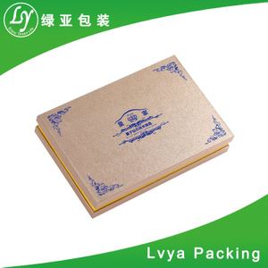 Recycle New style Custom Printing Eco friendly gift packing box